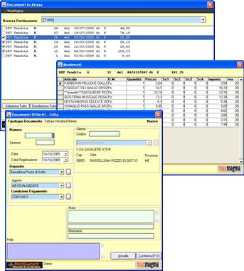Caratteristiche Fatturazione Documenti Differiti
